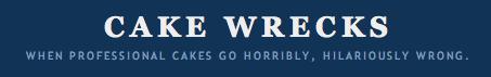Cake Wrecks Logo